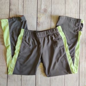 Nike gray stretchy athletic pants sz PS